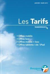 GDT GP JANV 2013 - Bouygues Telecom Edition Darty