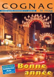 Cognac le mag janv 2005 - Ville de Cognac