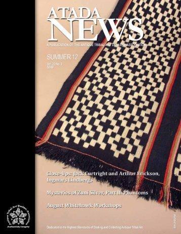 2012-3 ATADA News - The Antique Tribal Art Dealers Association, Inc.