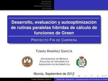 Presentación - Universidad de Murcia
