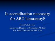 Is accreditation necessary for ART laboratory?