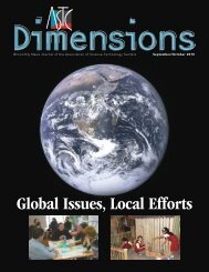Global Issues, Local Efforts - Association of Science - Technology ...