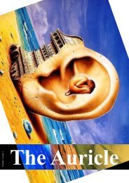 The Auricle Volume 1 Issue 1 - Get a Free Blog