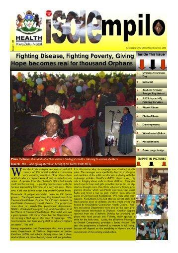 Kwadabeka CHC newsletter - Issu 08