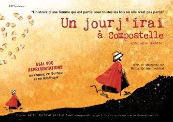 Dossier de présentation du Spectacle en pdf - Marie Céline Lachaud