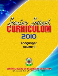 Languages Volume-II - Central Board of Secondary Education