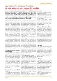 La lutte contre les poux rouges des volailles - Aviforum
