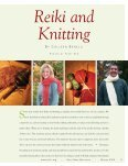 Reiki and knitting - Reiki Lifestyle - Page 2