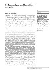 Erythema ab igne - Canadian Medical Association Journal