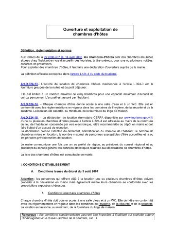 7 free magazines from ardennes cci fr - Permis d exploitation chambre d hotes ...