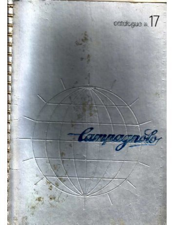 Campagnolo Catalogue 17 - classicbikeparts.de
