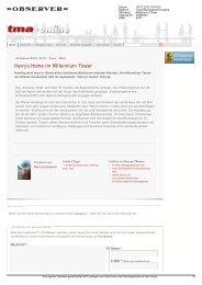Bericht Travel Management Austria 19.01.2012 - Harry's Home Hotels