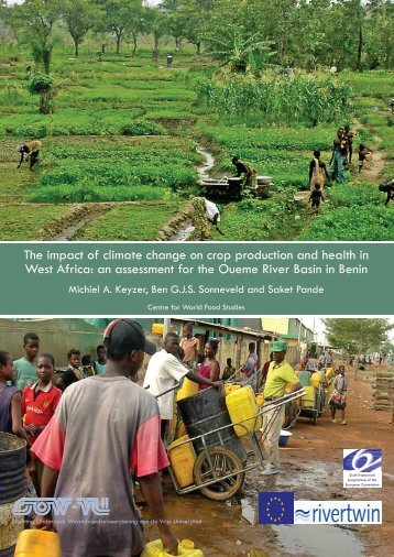 an assessment for the Oueme River Basin in Benin - SOW-VU