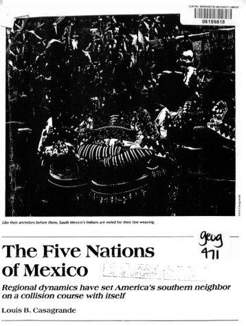Casagrande, L. 1987. The Five Nations of Mexico ... - CSU, Chico