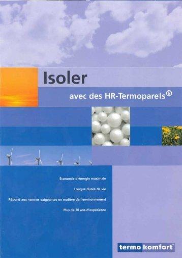 Caractéristiques du produit TERMOKOMFORT - Isodel