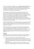 Forretningsplan - Musholm Bugt Feriecenter - Page 2