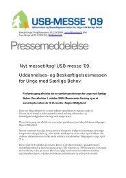 Pressemeddelelse - UU Horsens Hedensted
