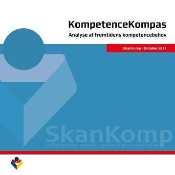 KompetenceKompas - Analyse af fremtidens ... - SkanKomp