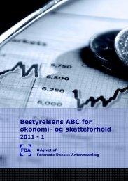Bestyrelsens ABC for økonomi- og skatteforhold - Forenede Danske ...