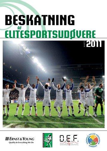 beskatning elitesportsudøvere af 2011 - Håndbold Spiller Foreningen