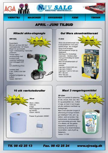 APRIL - JUNI TILBUD - F.wood-supply.dk