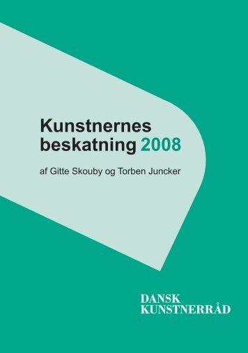 Download Kunstnernes Beskatning 2008 - BKF