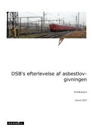dsb rapport om asbest