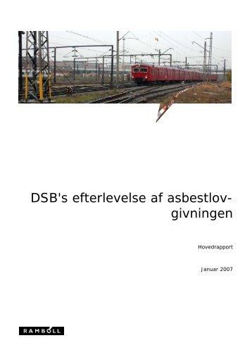 dsb rapport om asbest