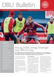 Arla og DONG Energy forlænger med DBU til 2014
