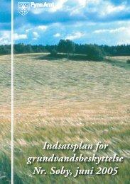 Indsatsplan for grundvandsbeskyttelse Nr. Søby ... - Naturstyrelsen