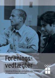 Forenings- vedtægter - Dansk Minigolf Union