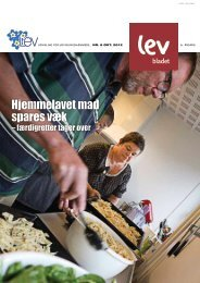 Hjemmelavet mad spares væk - Landsforeningen LEV