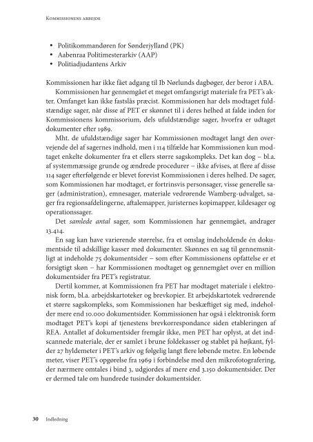 Bind 1 240 sider - PET-kommissions beretning
