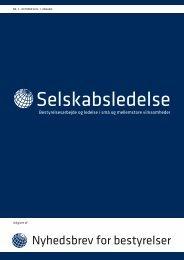 Selskabsledelse - Økonomisk Ugebrev