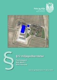 §§12 miljøgodkendelse - Aarhus.dk