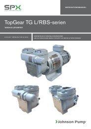 TopGear TG L/RBS-serien - Johnson Pump