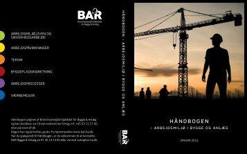 Arbejdsmiljø i bygge og anlæg - Håndbogen