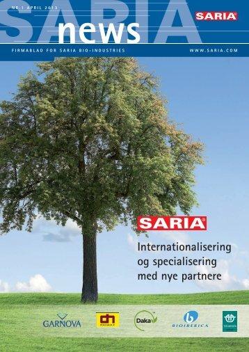 Internationalisering og specialisering med nye partnere - Saria Bio ...
