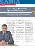 Internationalisering og specialisering med nye partnere - Saria Bio ... - Page 4