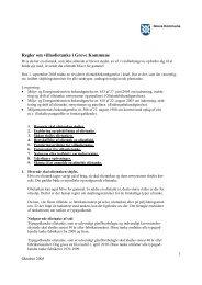 Regler om olietanke - Greve Kommune