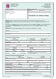 Anmeldelse om olietank (anlæg) - blanket - print ... - Nyborg Kommune