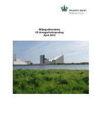 Miljøgodkendelse I/S Amagerforbrænding April 2012 - Miljøstyrelsen