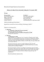 Referat af bestyrelsesmøde 15.-12.09 - Skoleporten Ingrid ...
