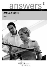 AMILO A Series - Hydro Control Home