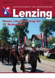 Gemeindezeitung Juli 2009 (2,37 MB) - Lenzing - Land Oberösterreich