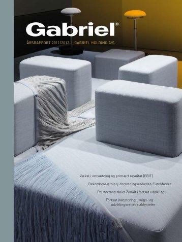 ÅRSRAPPORT 2011/2012 | GABRIEL HOLDING A/S Vækst i ...