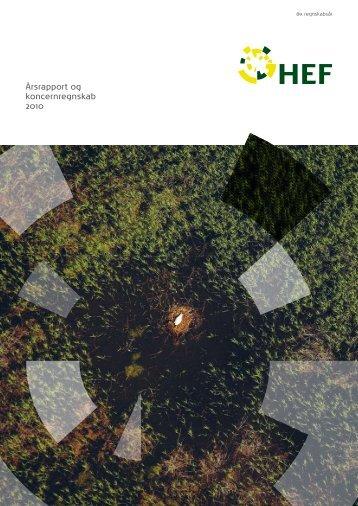 Årsrapport og koncernregnskab 2010 - HEF.dk