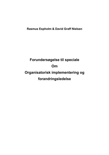 Rasmus Espholm & David Graff Nielsen