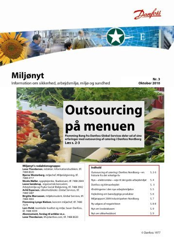 Outsourcing på menuen - Danfoss Industri Service