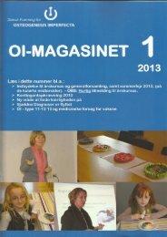 OI-Magasinet DFOI 1 - 2013 1 - DFOI.dk
